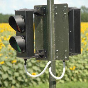 Светофор для автовесов