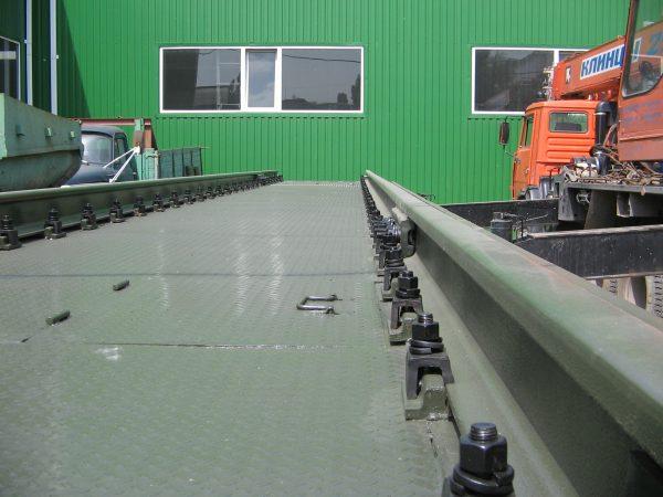 Электронные железнодорожные вагонные весы BBT-60-1