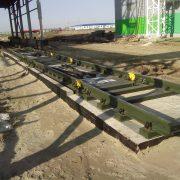 Электронные железнодорожные вагонные весы BBT-100-2
